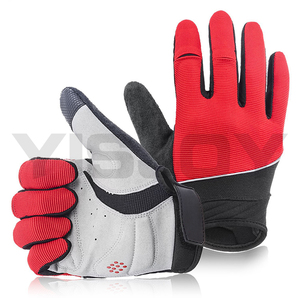 Comfortable breathable stratchable best cold weather good cycling riding gloves