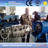 HDPE PP PE PPR Pipe production line plastic pipe extruder machine