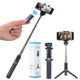 3 in 1 Selfie Stick with Foldable Tripod Stand a nd Wireless Remote Control Extendable Aluminum Alloy 360 Rotation Phone Holder