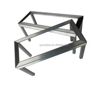 OEM ODM factory manufacture aluminum profile aluminum welding four legs aluminum table as your drawing