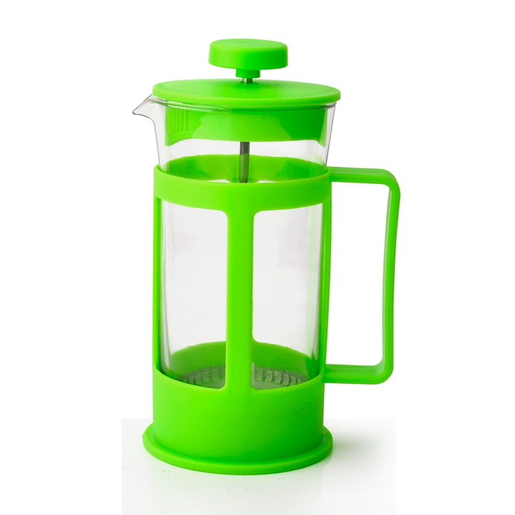 Grosir Murah Kecil Portable Private Label Pyrex Stainless French Press 350 Ml