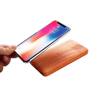 2018 Qi Wood Wireless Fast Charger Porwer Bank10000 mAh