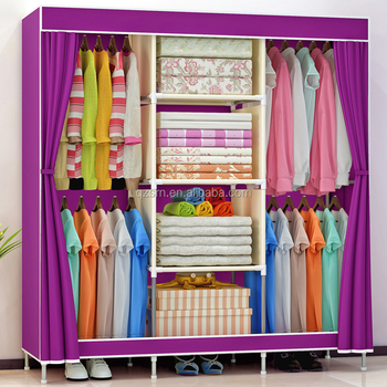 New Model Kids Bedroom Furniture Modern Armoire Fabric Almirah Baby Wardrobe  Triveni Almirah Prices