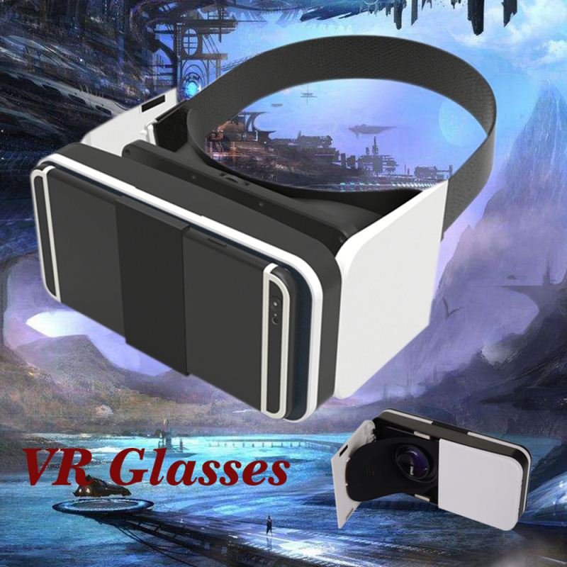 Personal IMAX theater 3d Head Mount Virtual Reality Glasses For Cell Phones