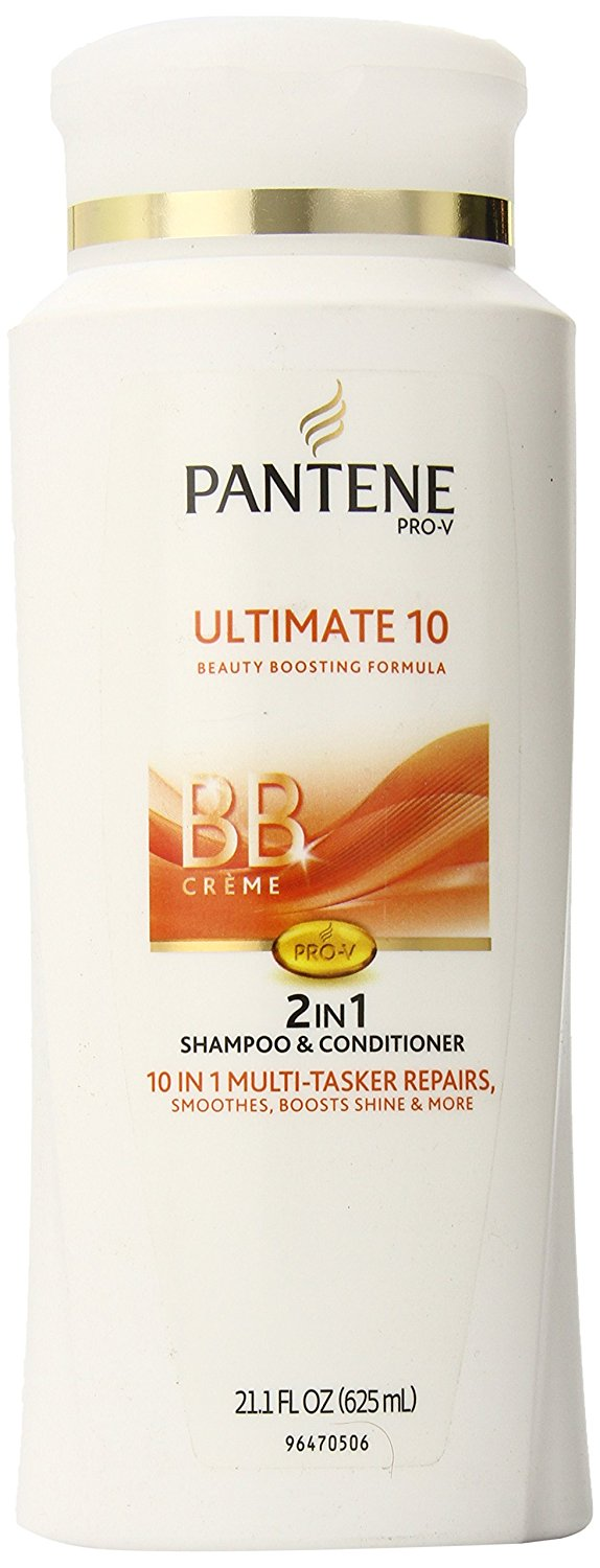 Pantene Pro-V Ultimate 10 2in1 Shampoo + Conditioner, 21.1 Fluid Ounce