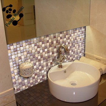 Mb Sms08 Interior Mixed Mosaic Backsplash Wall Tile Stone Mix Glass Mosaic  Kitchen Sink - Buy Mosaic Kitchen Sinks,Stone Mix Glass Mosaic,Backsplash  ...