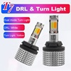1156 BA15S S25 BAU15S PY21W Dual Color DRL LED Daytime Running Turn Signal Lights