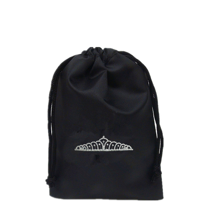 Sports nylon backpack bag drawstring pouch