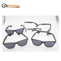 Cheap customized Logo UV400 Elastic Paint Frame Sun glasses