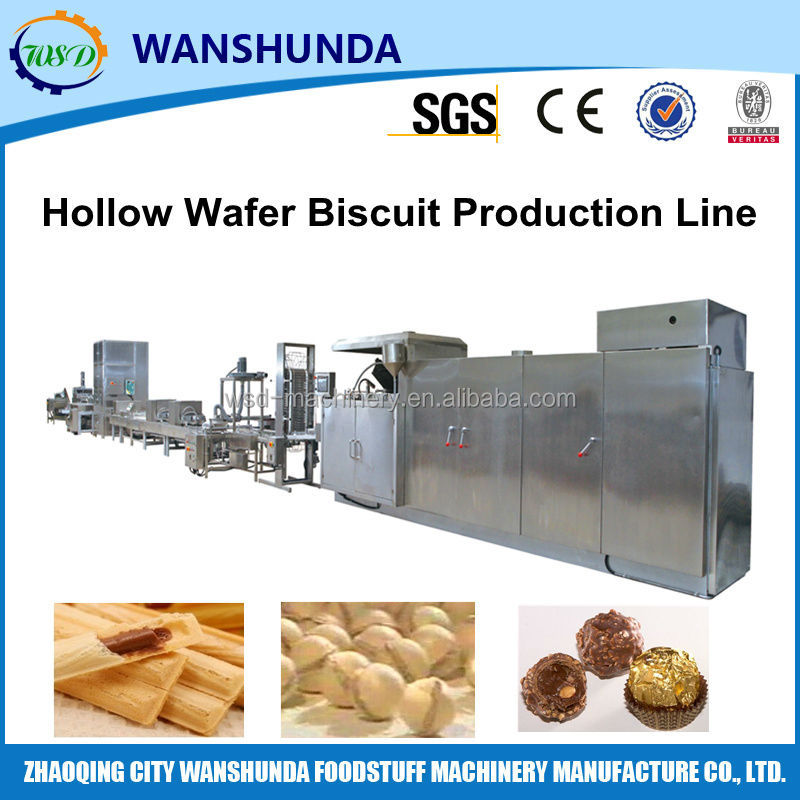 WSD- 65 High Capacity Hollow Wafer Processing Machine