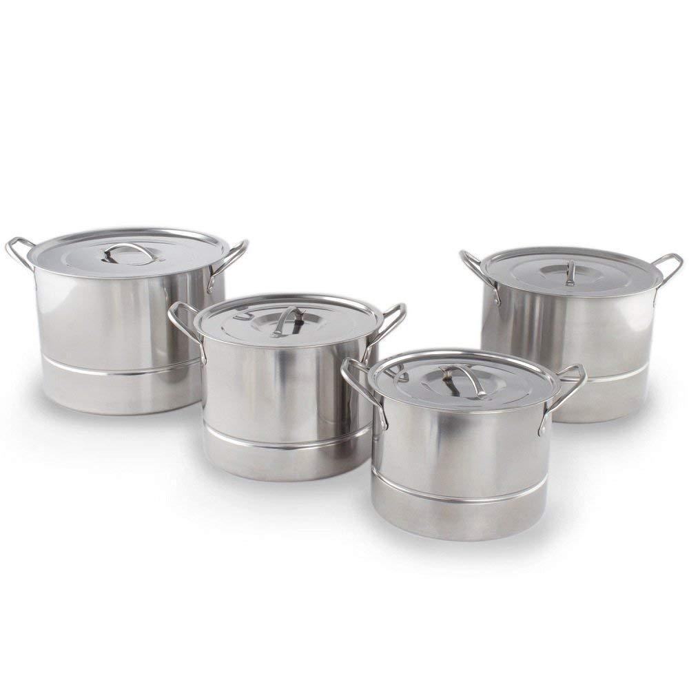 Stainless Steel 12 pcs. Steamer/Stem Pot Set