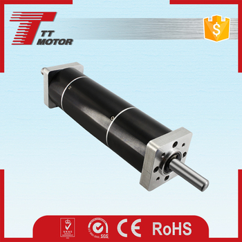 1250 rpm no-load speed dc planetary brushles motor