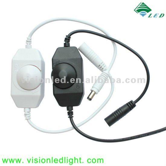 12v Dimmer Switch >> 12v 24v Led In Line Dimmer Switch View In Line Dimmer Switch Vision Product Details From Shenzhen Vision Led Light Co Ltd On Alibaba Com