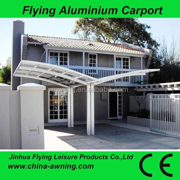 Alluminio posti auto coperti aluminium carport double for Abri auto double costco
