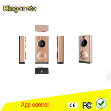 2017 Newest HD ip video intercom wireless doorbell, smart home door phone 720p wifi doorbell camera