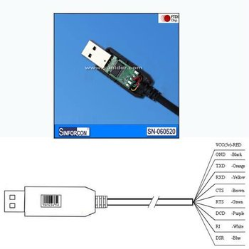 Support Win 8 Android Ft232 Usb Rs232 Cable Ft232rl Zt213