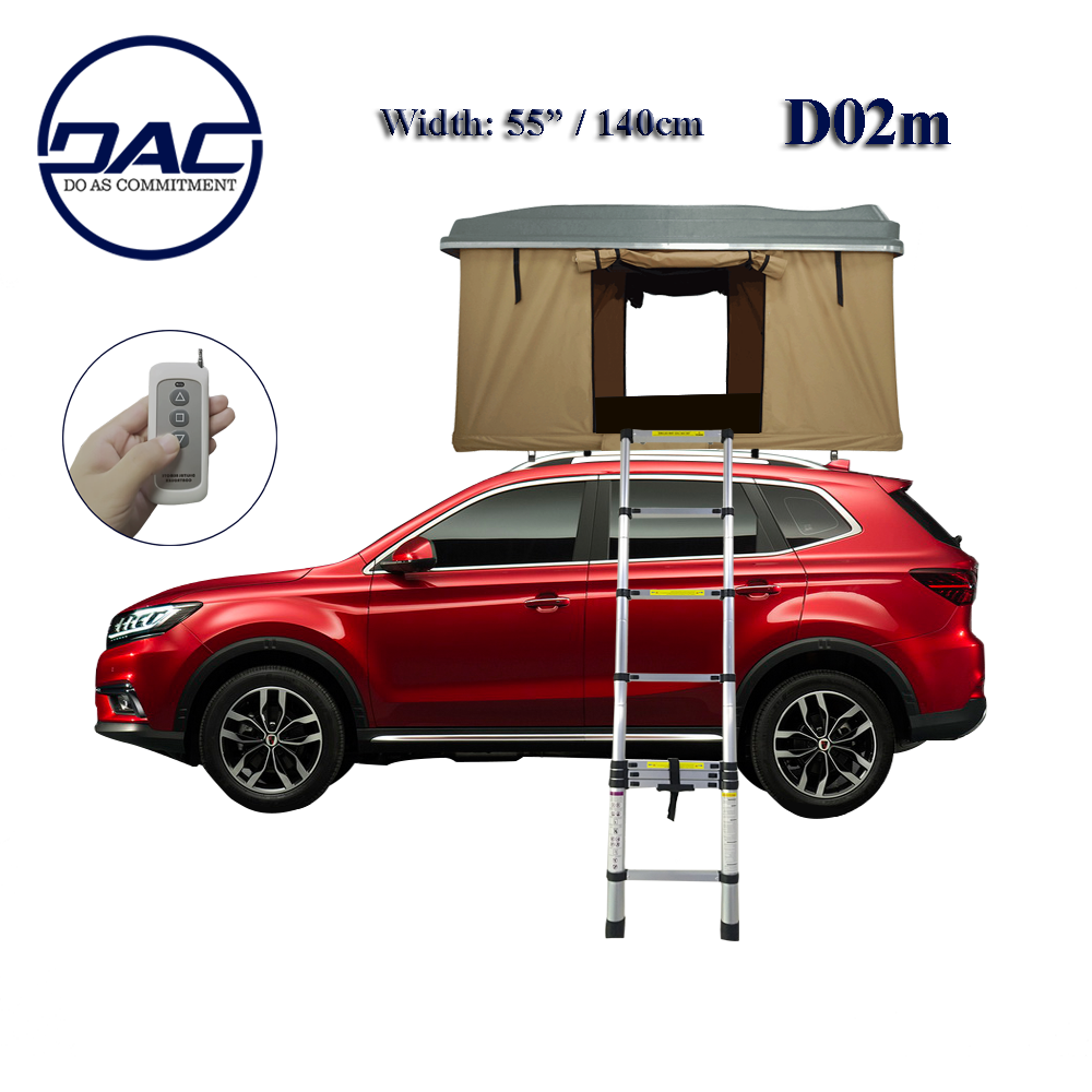 Electric Automatic Car Hard Shell Roof Top Tent in Light Weight