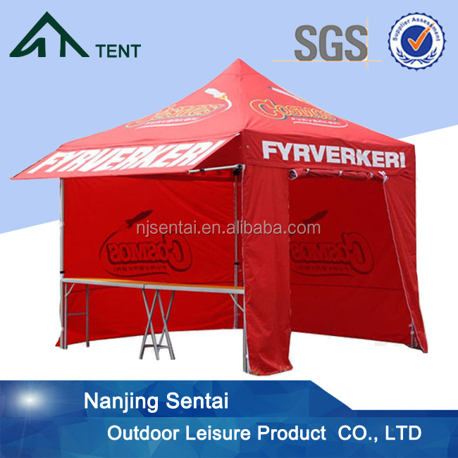 cheap custom printed canopy tent instant pop up tent high quality camping tent