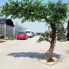 Unilateral 2.5 m and Width 1.8 m Artificial Ficus Tree Banyan Tree