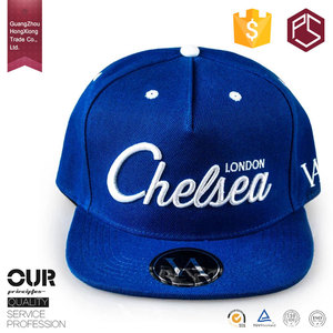 Guangzhou factory top design custom logo wholesale hit hop snapback cap