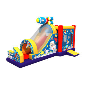 GMIF china factory new theme inflatable game slide machine bouncy house on playground