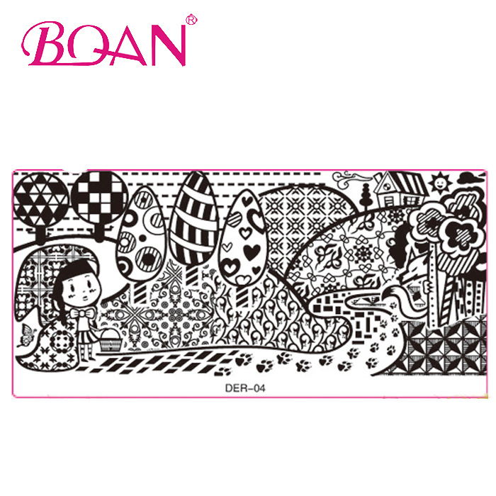 2015 Newest Entire Nail Stamping Image Tool Custom Nail Art Stamping Plates