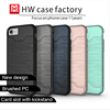 Double Layer case cover TPU+PC combo card slots mobile phone case for iphone 7