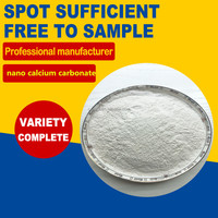 Factory offer Nano Calcium Carbonate with lowest price and highest quality