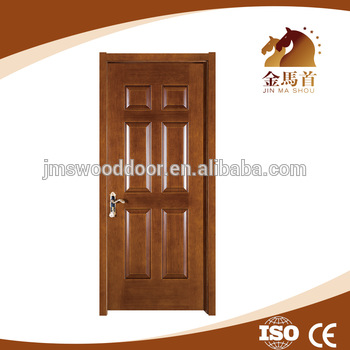 Soundproof bedroom wood door indian main door designs for Simple room door design