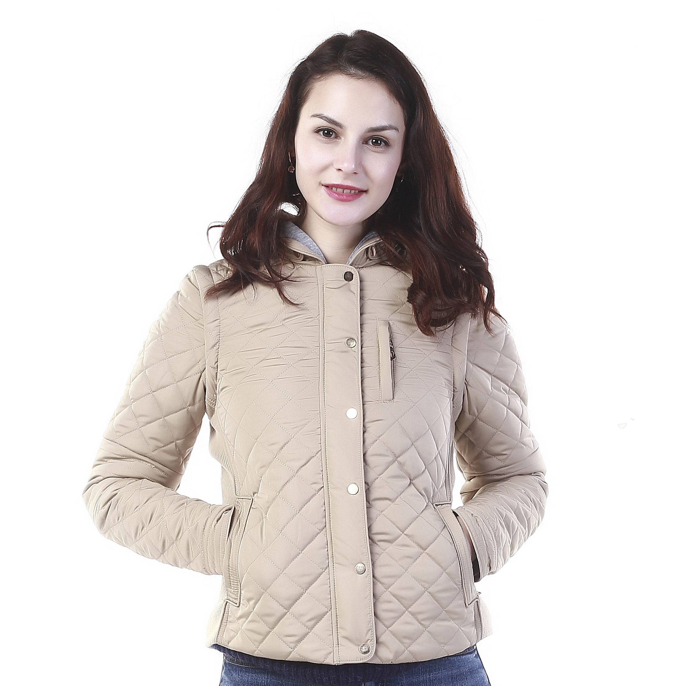 Eco-friendly Wholesale Factory Winter Women Quilted Cotton