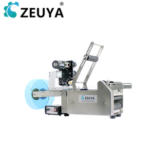 durable auto mini ampule labeling machine with printer