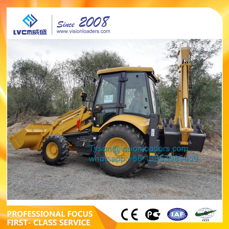 Hot selling backhoe loader B877,Opearting weight 8400kg