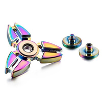 Fidget Spinner Toy Ultra Durable Stainless Steel Bearing High Speed 1-5 Min Spins Precision Metal Material Hand spinner