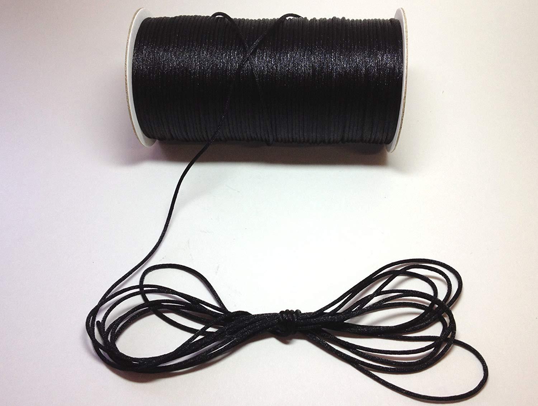White Rat Tail Cord 2mm X 200Yd