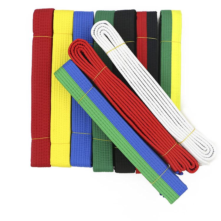 260cm Standard Karate Judo Martial Taekwondo Belts Sashes Black Red Etc.