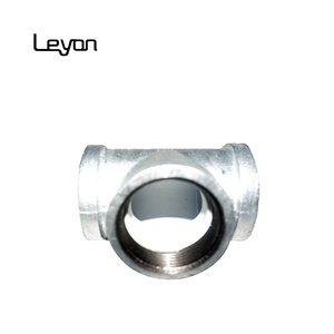 gi cast iron pipe fitting ppr equal tee tube water connector lining plastic tee