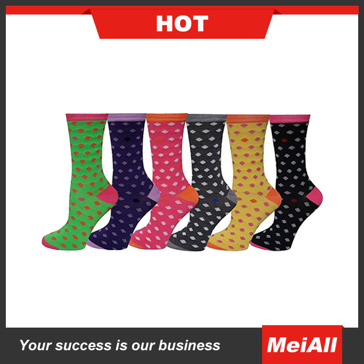 Custom Knit Socks 100% cotton Soft Men Socks