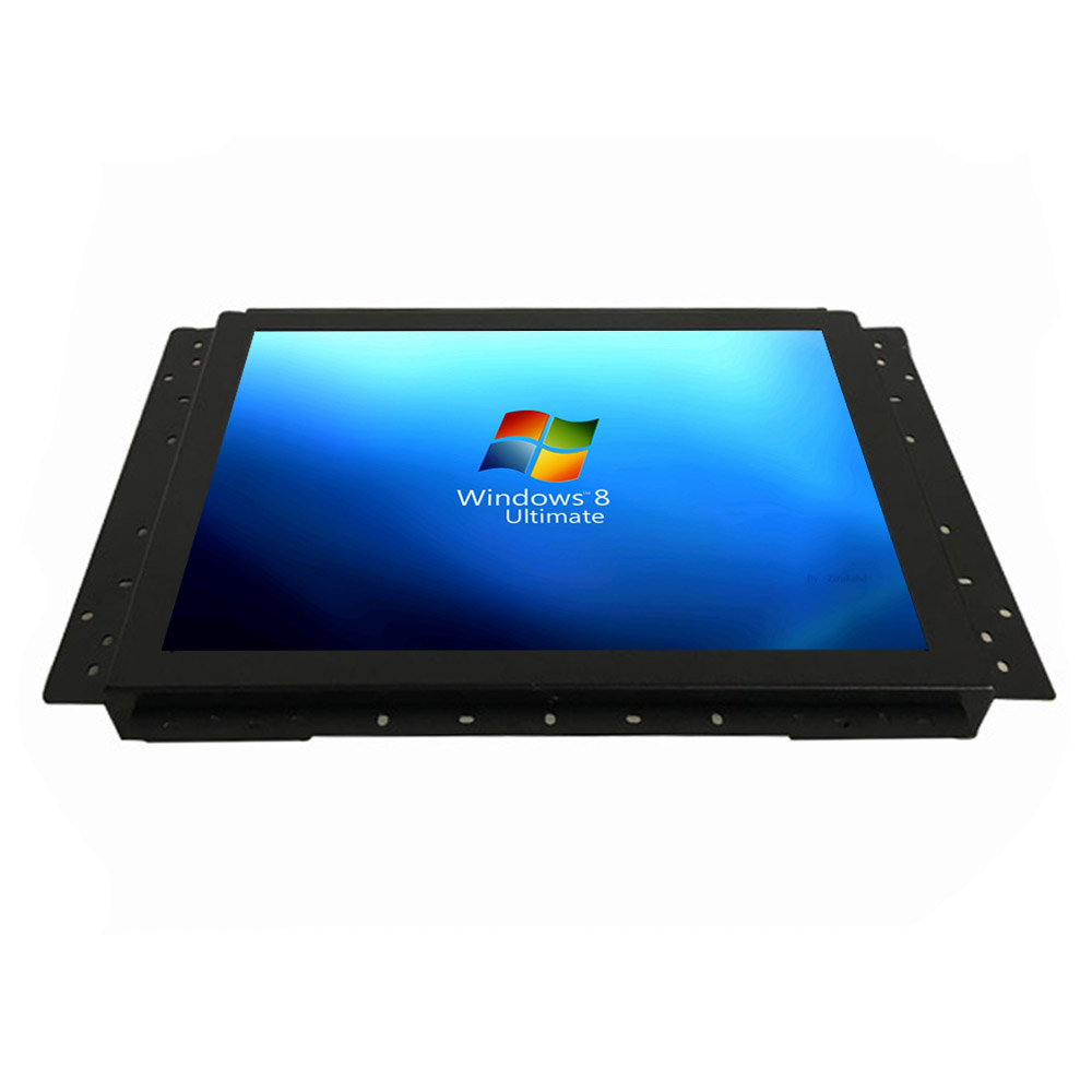 rack mount open frame sunlight readable high brightness monitor 17inch