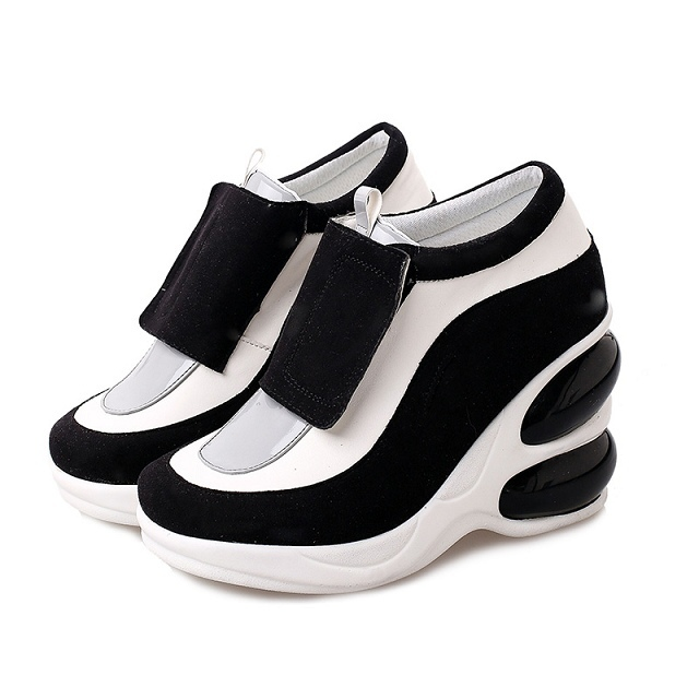 4eaecea428b Get Quotations · NEW 2015 Spring Brand Casual Breathable Women Wedge  Sneakers Height Platform Shoes Woman Sneakers High Heel