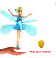 RC Helicopter Kids RC toys Elsa Princess toys drone flying Induction flyer Helicoptero Action figure Kid