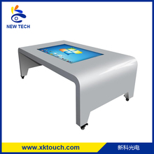 2017 new product windows system 1080p interactive smart multi touch table for smart entertainment