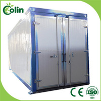 Quality assured new coming industry drying powder coating oven machine