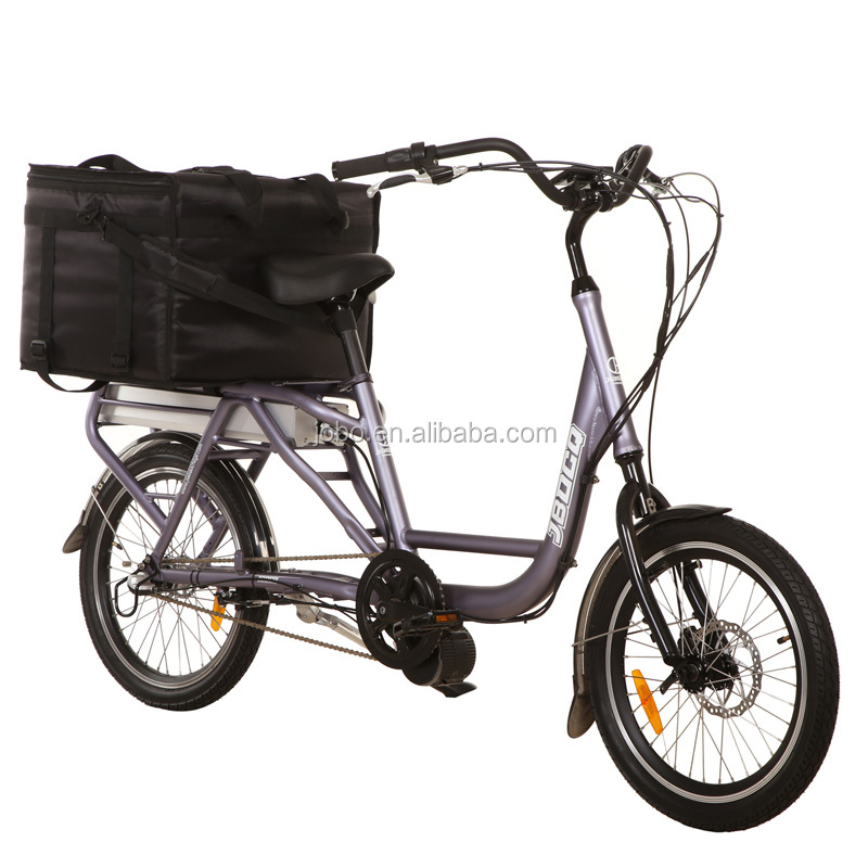 Electric bike with basket to food-delivery JB-TDN03Z