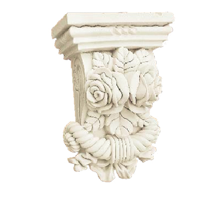 High quality polyurethane moulding HD-C01337 Polyurethane Foam Chesterfield Corbels