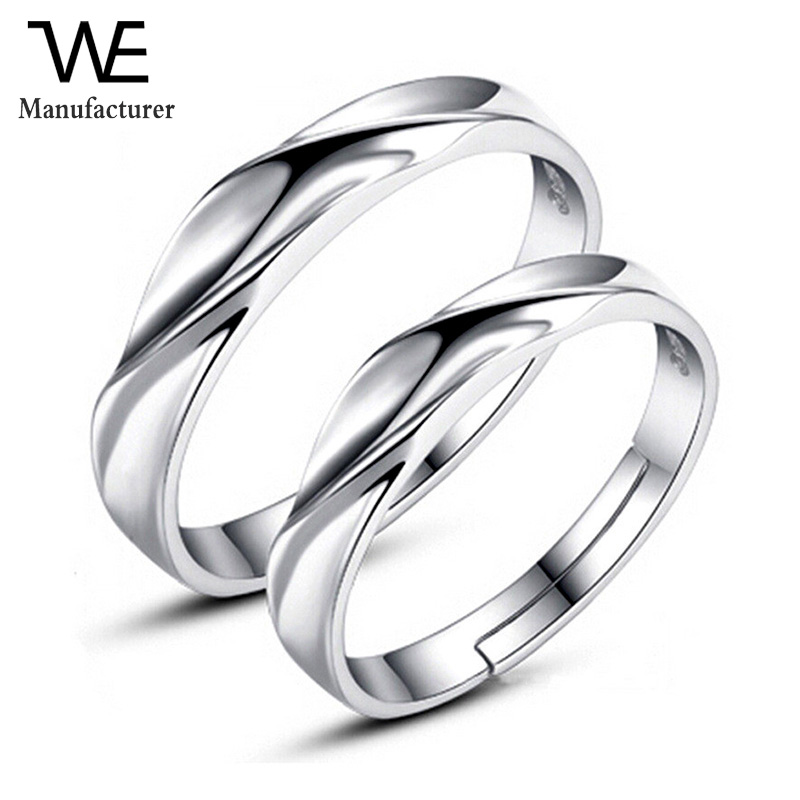 Flat Round Cut White Natural Diamond Couple Wedding Band Rings Set