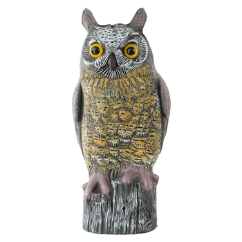 High Quality Plastic Owl Outdoor Garden Decor For Sale