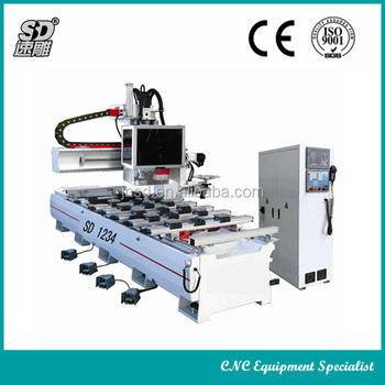 automated wood carving machine