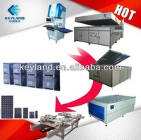 Keyland 5MW 10MW 20MW PV Solar Module Production line solution Solar Panel Assembly line