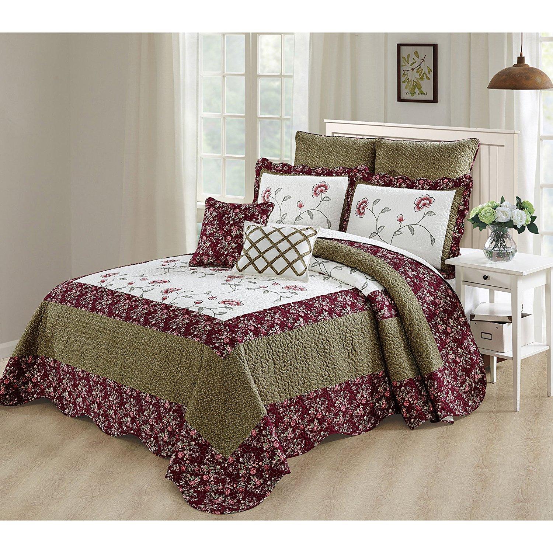Cheap Green Bedspread Queen, Find Green Bedspread Queen