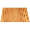 Fashion Bamboo shower Anti slip mat to keep your safe